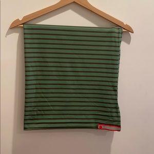 Lululemon vinyasa scarf green stripes